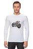 "Лонгслив ""Мотоцикл"" - мотоцикл, bike"