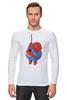 """Лонгслив """"Fat Spiderman"""" - spider-man, человек-паук, обжорство, спайдермен"""