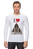 "Лонгслив ""I love london"" - лондон, i love london"
