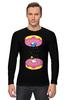 """Лонгслив """"Simpsons x Portal"""" - симпсоны, гомер симпсон, пончик, the simpsons, donut"""