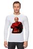 """Лонгслив """"Путин Суперчеловек"""" - путин, putin, суперчеловек"""