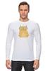 """Лонгслив """"Умная кошка"""" - кошка, модно, котик, casual"""