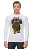 """Лонгслив """"Вежливые Люди"""" - кот, россия, путин, крым, вежливые люди"""