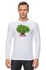 """Лонгслив """"iCalistini The Love Tree Дерево Любви"""" - счастье, дерево счастья, дерево любви"""