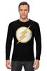 "Лонгслив ""Flash (Молния)"" - flash, молния, флэш"