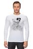 """Лонгслив """"Белый Медведь"""" - bear, медведь, белый медведь"""