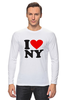 "Лонгслив ""i love NY"" - new york"