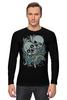 """Лонгслив """"Skull Art"""" - skull, череп, черепа, дизайн, skulls"""