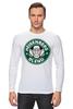 "Лонгслив ""Heisenberg Coffee (Breaking Bad)"" - кофе, во все тяжкие, старбакс, heisenberg coffee"