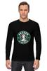 """Лонгслив """"Frozen coffee"""" - кофе, coffee, starbucks, frozen, холодное сердце"""