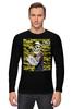 "Лонгслив ""Морячок"" - skull, череп, морячок, sailor, моряк"
