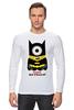 """Лонгслив """"Minion Batman                        """" - смешные, приколы, мультики, comics, стиль, batman, супергерои, dc, миньоны, superhero"""