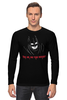 """Лонгслив """"Бэтмен против Супермена"""" - супермен, batman, бэтмен"""