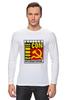 """Лонгслив """"Moscow Commie Con"""" - ссср, пародия, коммунизм, серп и молот, comic com"""