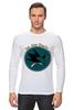 "Лонгслив ""San Jose Sharks"" - спорт, хоккей, nhl, нхл, сан хосе шаркс"