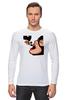"""Лонгслив """"Люблю Мики"""" - кошка, мики маус, дизайн, мики, женщина кошка"""