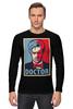 """Лонгслив """"Доктор Кто (Doctor Who)"""" - doctor who, доктор кто"""