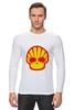 """Лонгслив """"Shell Skull"""" - skull, череп, прикол, супер, стиль, логотип, shell"""