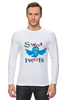 "Лонгслив ""Sweet tweets"" - social network, twitter, твиттер, little bird, чирикать, микроблоггинг"