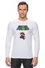 "Лонгслив ""Super Mario"" - mario, dendy, марио, mario bros, 8bit"