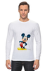"""Лонгслив """"Mickey"""" - микки маус, микки, mickey mouse"""