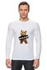 "Лонгслив ""Ted PSS"" - арт, bear, медведь, ted, в любви не без медведя"