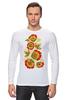"""Лонгслив """"Хохлома"""" - арт, цветы, хохлома"""