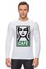 "Лонгслив ""Starbucks (Obey)"" - кофе, coffee, starbucks, старбакс, cafe"