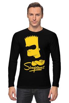 """Лонгслив """"Барт Симпсон"""" - симпсоны, the simpsons, барт симпсон"""
