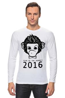 """Лонгслив """"Год Обезьяны"""" - новый год, обезьяна, monkey, 2016, год обезьяны"""