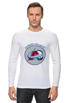 "Лонгслив ""Colorado Avalanche"" - хоккей, nhl, нхл, колорадо эвеланш, colorado avalanche"