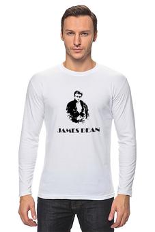 "Лонгслив ""Джеймс Дин James Dean"" - стиль, ретро, кино, джеймс дин, james dean"