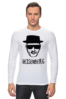 "Лонгслив ""Heisenberg"" - во все тяжкие, драма, breaking bad, гейзенберг, walter white"