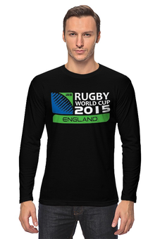 "Лонгслив ""RWC 2015 "" - регби, 2015, rwc, rugby world cup"