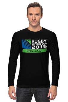 """Лонгслив """"RWC 2015 """" - регби, 2015, rwc, rugby world cup"""