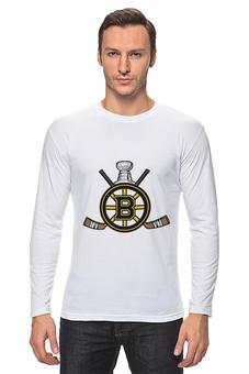 """Лонгслив """"Бостон Брюинз """" - хоккей, nhl, нхл, бостон брюинз, boston bruins"""