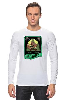 """Лонгслив """"squirrel"""" - футболка мужская"""