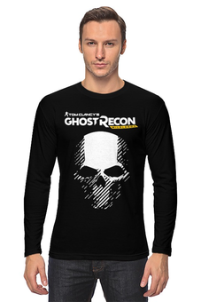 "Лонгслив ""Tom Clancy's Ghost Recon Wildlands"" - tom clancys ghost recon wildlands, ghost recon, tom clancy, игры, для геймеров"