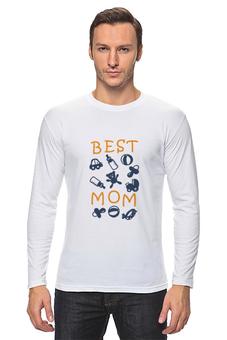 "Лонгслив ""Best Mom"" - 8 марта, мама, keep calm, женский день, best mom"