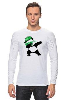 "Лонгслив ""Dab Panda "" - животные, панда, panda, дэб, dab"