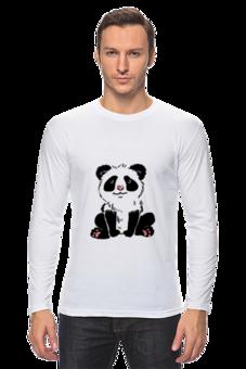 """Лонгслив """"Панда)))"""" - прикольные"""