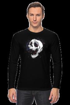 """Лонгслив """"Vampire`s skull"""" - арт"""