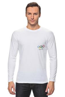 """Лонгслив """"Сочи 2014"""" - спорт, олимпиада, сочи, sochi"""