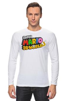 "Лонгслив ""Super Mario"" - super mario"