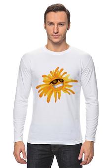 "Лонгслив ""солнце"" - лето, солнце, мода, жара"