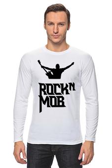 """Лонгслив """"Rocknmob"""" - rocknmob"""