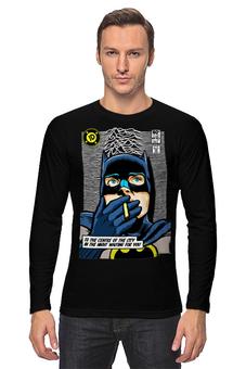 """Лонгслив """"Бэтмен"""" - комиксы, batman, бэтмен, dc"""