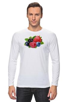 """Лонгслив """"Berries"""" - ягоды, ягода, ягодка, berries, ягодки"""