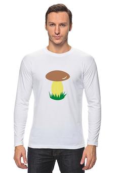 "Лонгслив ""грибок"" - мультики, природа, гриб, грибник, футболку"