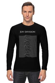 """Лонгслив """"Joy Division"""" - музыка, рок, joy division"""